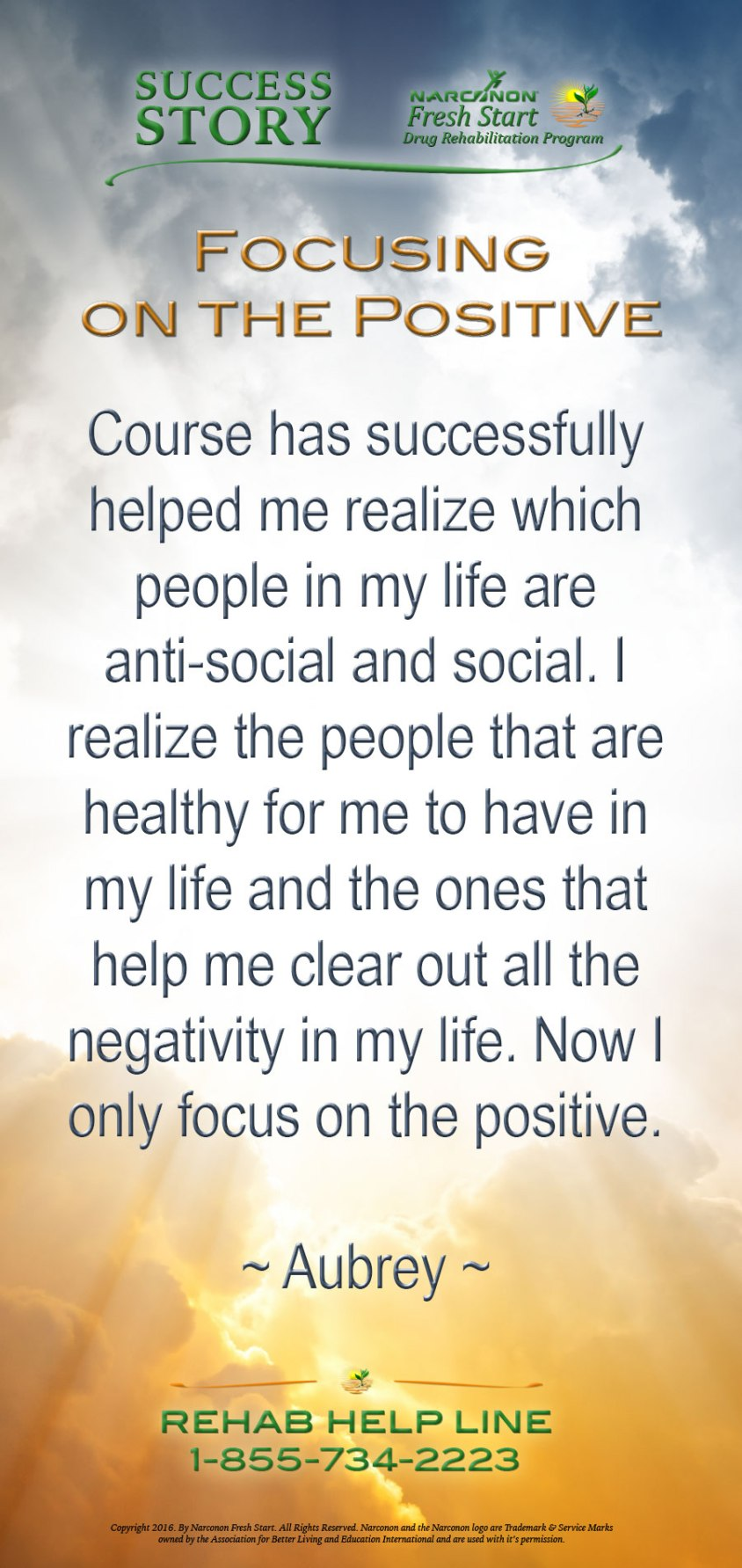 Focusing on the Positive