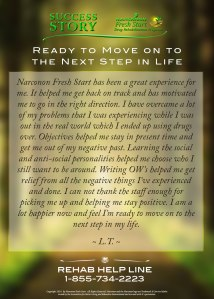 Moving on to Next Step in Life after Recovery