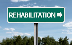 Drug Rehabilitation Sign