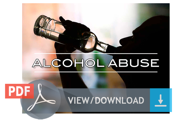 Download Alcohol Abuse Brochure